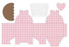 Mãe em Potencial: Faça você mesmo: caixinha para cupcakes