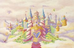 Princess Castle Mural - Nicolette Capuano  Murals Your Way for my Princess NATALIE!  Ordered!