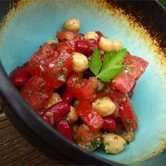 Mediterranean Bean Salad