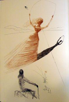 Alice's Adventures in Wonderland, 1969,  Salvador Dali. Spanish (1904 - 1989)