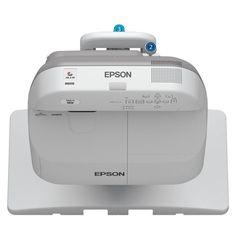 Epson - PowerLite Wxga 3LCD Projector - Gray/White