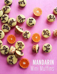 Mandarin Mini Muffins