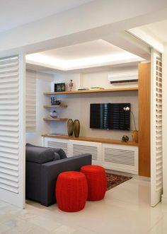 Apartamento Botafogo (Foto: Denílson Machado, MCA Estúdio / Divulgação)