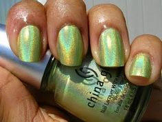 China Glaze OMG Collection L8R G8R. Wish I could find this to try it.