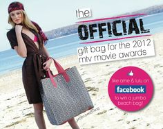 Official Bag of MTV 2012 Movie Awards