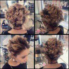 cool hair arrangement by a hair dresser works at SHIMA