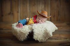 Royce Winnick Photography Newborn photography cowboy Woody Toy Story Andy