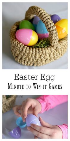 fun easter minute to win it game ideas pinterest easter gaming