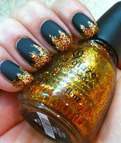 Hunger Games nails!!