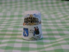 Arles Souvenir Thimble, Vintage Collectible from France, for your French Collection by MendozamVintage on Etsy