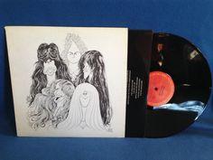 "Vintage Aerosmith - ""Draw The Line"" Debut Vinyl LP Record Album Original First Press Steven Tyler Joe Perry Kings And Queens Rock"