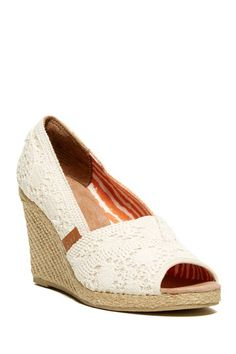 Tackle Wedge Pump by Madden Girl on @HauteLook