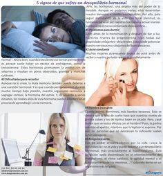 5 signos de que sufres un desequilibrio hormonal