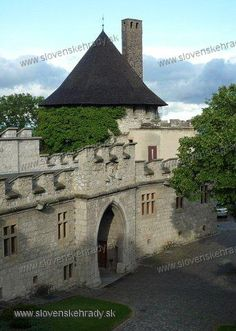 Smolenický castle - a gateway from the terrace Church Building, European Countries, Czech Republic, Hungary, Budapest, Terrace, Scotland, Medieval, Buildings