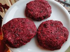 Vegetarian Beet Burgers | Fitness treats would have to change some things, but will try this