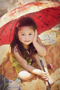 Umbrella - children photography