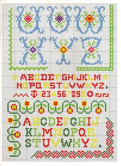 FANCY ALPHABET PATTERN 2