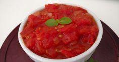 Molho rústico de tomate receita da Paola Carosella