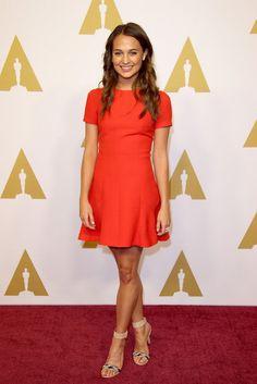 Der Style von Schauspielerin Alicia Vikander.