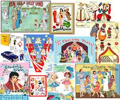 Free Article: History of Paper Dolls