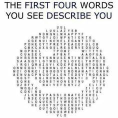 Describe yourself in 5 words hookup site