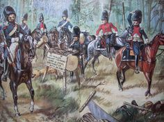 The riders of the Grand Army :: Carabinieri francesi in ricognizione - Patrice Courcelle