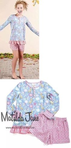 Matilda Jane At Midnight Pajama Set Size XL X Large Womens Pajamas NWT In Bag