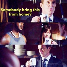 "#AgentsofSHIELD 2x06 ""A Fractured House"" - Triplett, Skye and Coulson"