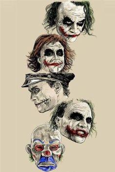 Batman Anniversary Tribute - PP :: Heath Ledger as Joker in 2008 - Art by Robert Bruno Joker Tattoos, Batman Joker Tattoo, Le Joker Batman, Der Joker, Joker Und Harley Quinn, Heath Ledger Joker, Joker Art, Heath Ledger Tattoo, Superman