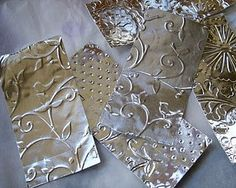 embossed metal and other fun projects