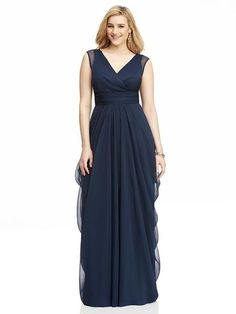 Plus Size in Every Style The Dessy Group plus size bridesmaid dresses with sleeves - Bridesmaid Dresses Bridesmaid Dresses With Sleeves, Bridesmaid Dresses Plus Size, Beautiful Bridesmaid Dresses, Bridesmaid Gowns, Bridesmaid Ideas, Plus Size Gowns, Evening Dresses Plus Size, Moda Xl, Trendy Dresses