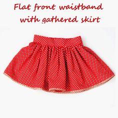 Free gathered skirt dresstutorial