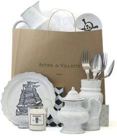astier de villatte selection of products