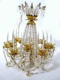 beautiful dollhouse miniature chandelier