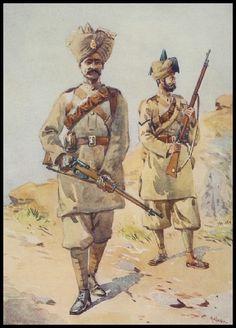 30th Punjabis & 20th DCO Infantry (Brownlows)