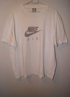 Kup mój przedmiot na #vintedpl http://www.vinted.pl/damska-odziez/t-shirty/21517458-biala-koszulka-t-shirt-nike-air-xlxxl-jak-nowa