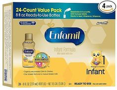 Enfamil Infant Baby Formula Ready-to-Use Plastic Bottles 6 Count(Pack of 6) - http://baby.goshoppins.com/feeding/enfamil-infant-baby-formula-ready-to-use-plastic-bottles-6-countpack-of-6/