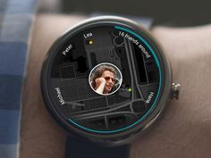 App Concept Adnroid Wear by Michal Galubinski  {{{ oh my god i hope these things don't become real }}}