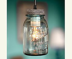 Mason Jar Revival - this site is FILLED with creative ways to use a mason jar.