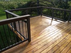 I really like the railings on this one, and the deck. It is just clean looking and simple.