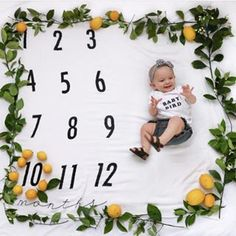 Home of the Original Monthly Milestone Blanket. Document each month as your baby grows in their very first year! Monthly Pictures, Monthly Baby Photos, Newborn Baby Photos, Baby Girl Newborn, Summer Baby Photos, Baby Spa, Baby Announcement Pictures, Baby Boy Pictures, Baby Boy Photography