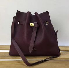 Mulberry Summer 2017 SMulberry Small Tyndale Bucket Bag in Burgundy Small  Classic Grain Leather abe5c5c5d8dde