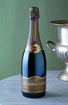 Roederer Estate Brut - good price, excellent sparkling wine from the makers of Cristal