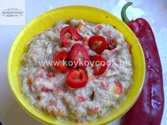 1701201310559 Greek Recipes, Oatmeal, Food And Drink, Healthy, Breakfast, Lenten, Spreads, Dips, Cupcake