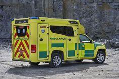 Volkswagen Amarok Tamlans modular ambulance has been granted Volkswagen AG's UBB-certificate.