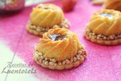 Sablés a la crème d'amande Bonjour tout le monde,  Voila une magnifique recette de sablés a la ...