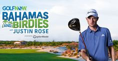 Win a trip to both Miami and the Bahamas including the chance to golf with pro player Justin Rose.                                   #Sweepstakes, #GolfNow, #Bahamas, #Trip, #Birdies