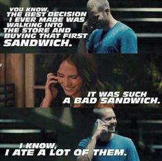 Brian & Mia | Furious 7 I immediately started tearing up in this scene. Reminiscing as if they actually knew Paul was going to be gone. Gosh this movie makes me emotional.