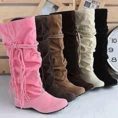 Thinking boots...