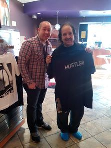 The man, the myth, the legend, Ron Jeremy stopped by Hustler Hollywood in Ft. Lauderdale celebrating his birthday.